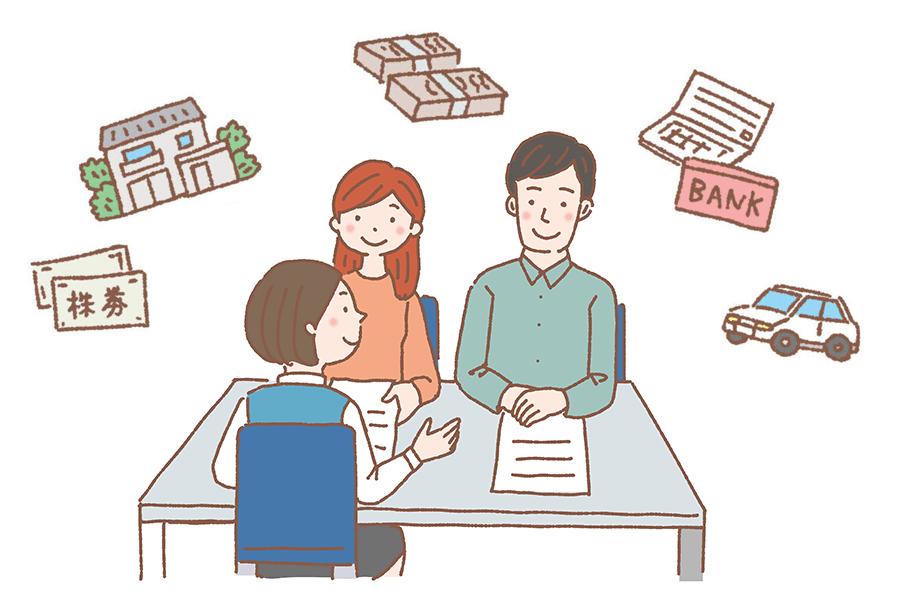 協議離婚・財産分与のイメージ